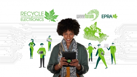EPRA/Recycle My Electronics programs are proud to partner with the WEEE Forum electronics recycling community.